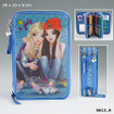 TOPModel Filled Pencil Case Triple Friends - Blue www.the-village-square.com EAN: 4010070330774