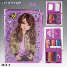 The Top Model Extra Large Filled Friends Pencil Case www.the-village-square.com EAN: 4010070330378