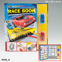 Monster Cars Race Book with 2 Race Cars www.the-village-square.com EAN:  4010070301958