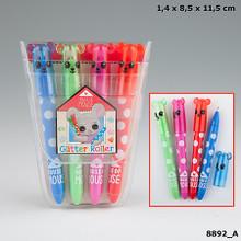 House of Mouse Glitter Gel Pen Set - 4 Colours www.the-village-square.com EAN:   4010070320560