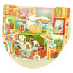 Santoro Popnrock 3D Greeting Card - Pet Shop Greeting Cards www.the-village-square.com EAN:  5018997090930 Pop-Ups Birthday Card
