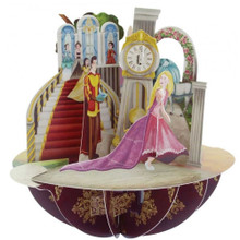 Santoro 3D Pop-Up Pirouette Greeting Card -  Princesses www.the-village-square.com EAN: 5018997240502 Pop-Ups Birthday Card