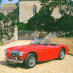 Greeting Sound Card By Really Wild Cards - Austin Healey 100M 1956 Classic Car www.the-village-square.com EAN: 5060211661914 Greeting Sound Card