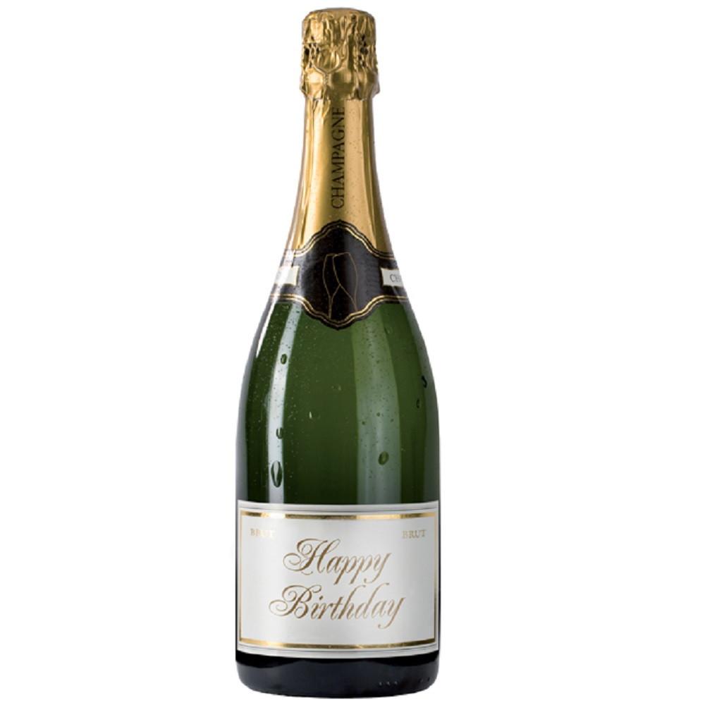 Champagne Sound Bottle Greeting Card By Popshots Studio Happy Birthday