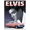 Evis Pink Cadillac Large Metal Wall Sign - The Original Metal Sign Co. EAN: 5060162982052 www.the-village-sqaure.com