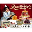 Rowntree's Jellies Large Metal Wall Sign - The Original Metal Sign Co. EAN: 5060162981383 www.the-village-square.com
