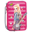 TOPModel Filled Pencil Case Triple Popstar Guitar – Pink www.the-village-square.com EAN: 4010070358761