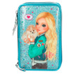 TOPModel Filled Pencil Case Triple Friends Turquoise www.the-village-square.com EAN: 4010070346829
