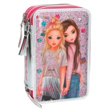 TTOPModel Filled Pencil Case Triple Friends Pink www.the-village-square.com EAN: 4010070346836