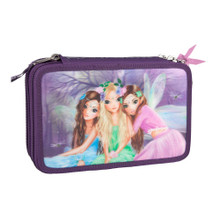 TOPModel Fantasy  Filled Pencil Case Triple Fairy Design www.the-village-square.com EAN: 4010070312152