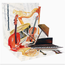 Pop-Up Greeting Card Trearures by Popshots Studios -  Classical Music Barcode: 048641501050 www.the-village-square.com