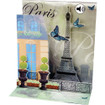 Pop-Up Sight 'n Sound Greeting Card by Popshots Studios - Romantic Paris Barcode:  048641303463 www.the-village-square.com