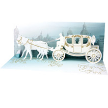 Panoramics  Pop-Up Greeting Card by Popshots Studios - Wedding Carriage Barcode:  048641121098 www.the-village-square.com