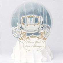 Pop-Up Greeting Card Everyday Globes by Popshots Studios - Wedding Carriage Barcode: 048641514050 www.the-village-square.com