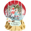 Pop-Up Christmas  Medium Snow Globe by Popshots Studios - Nutcracker Barcode: 048641311611 www.the-village-square.com