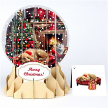 Pop-Up Christmas  Medium Snow Globe by Popshots Studios - Holiday Room Barcode: 048641524653 www.the-village-square.com