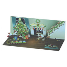 Panoramics  Pop-Up Christmas Card by Popshots Studios - Midnight Room Barcode:  048641102592 www.the-village-square.com