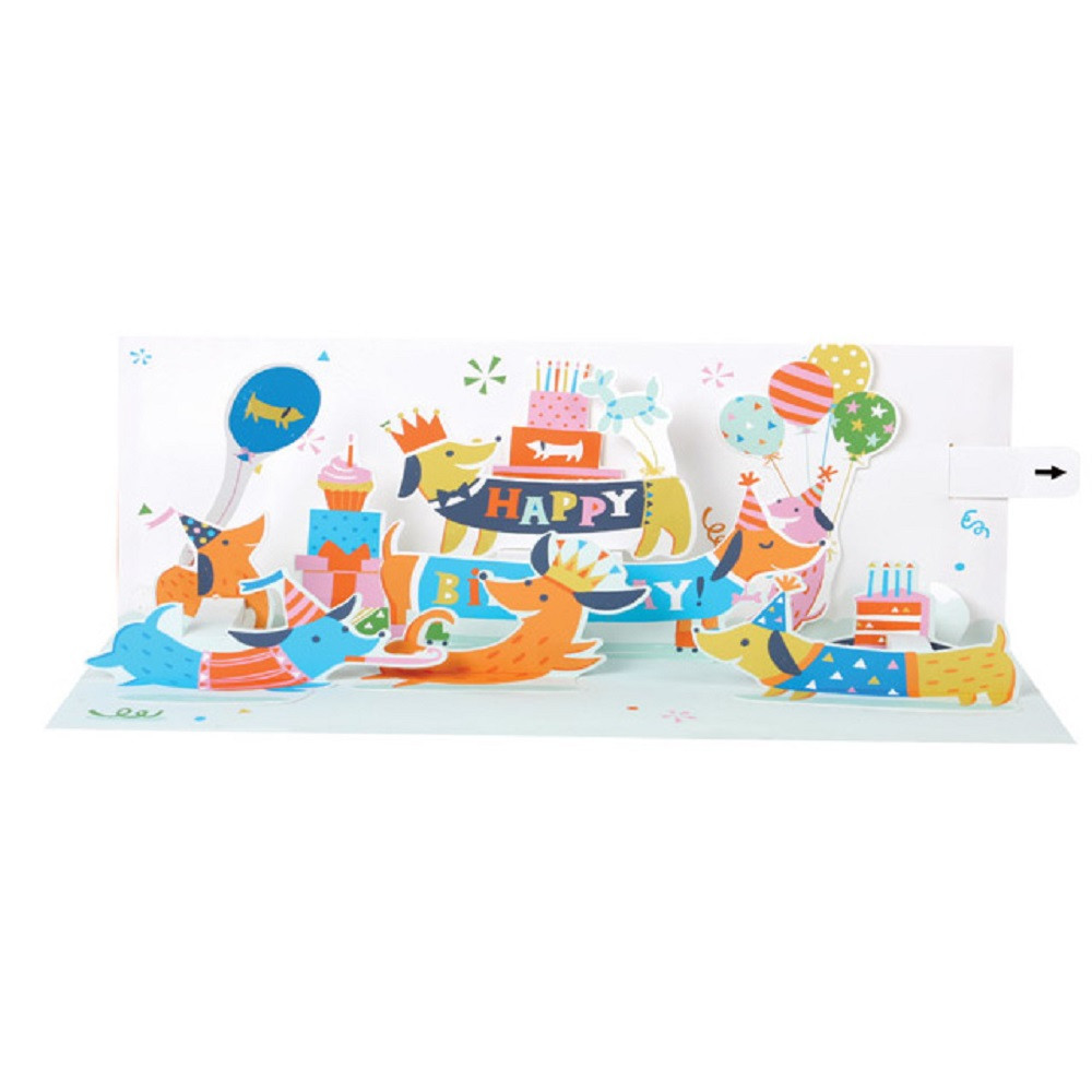 Panoramics With Sound Pop Up Greeting Card By Popshots Studios