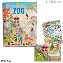 Create Your ZOO Colouring Book www.the-village-square.com EAN:  4010070367060