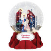 Pop-Up Christmas  Medium Snow Globe by Popshots Studios - Nativity Barcode: 048641537059 www.the-village-square.com