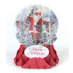 Pop-Up Christmas  Medium Snow Globe by Popshots Studios - Jolly Santa Barcode: 048641562754 www.the-village-square.com