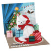 Pop-Up Christmas Card Trearures by Popshots Studios - Santa Cat Barcode: 048641374111 www.the-village-square.com