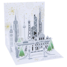 Pop-Up Christmas Card Trearures by Popshots Studios - Global New Year Barcode: 048641376610 www.the-village-square.com