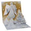 Pop-Up Christmas Card Trearures by Popshots Studios - Golden Angel  Barcode: 048641374111 www.the-village-square.com