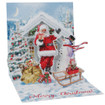 Pop-Up Christmas Card Trearures by Popshots Studios - Santa & Snowman Barcode: 048641376818 www.the-village-square.com