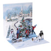 Pop-Up Christmas Card Trearures by Popshots Studios - Village Skaters Barcode: 048641314919 www.the-village-square.com