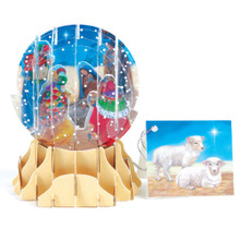 Pop-Up Christmas  Small Snow Globe by Popshots Studios - Three Kings Barcode: 048641567957 www.the-village-square.com