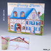 Create Your Funny Farm Colouring and Sticker Book  www.the-village-square.com