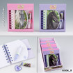 Horses Dreams note book with miniballpen www.The-Village-Square.com EAN: 4010070202064