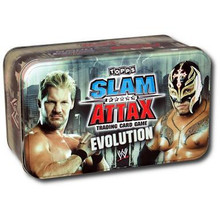 WWE Slam Attax trading Cards Evolution Collectors Tin www.the-village-square.com