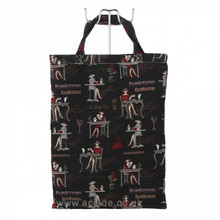 Tapestry Eco Bag - Black Rendezvous  www.the-village-square.com