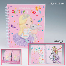 My Style Princess Glitter Colouring Book www.the-village-square.com EAN: 4010070230807