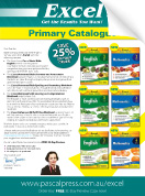 Excel Primary Catalogue 2018