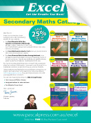 Excel Secondary Maths Catalogue 2018