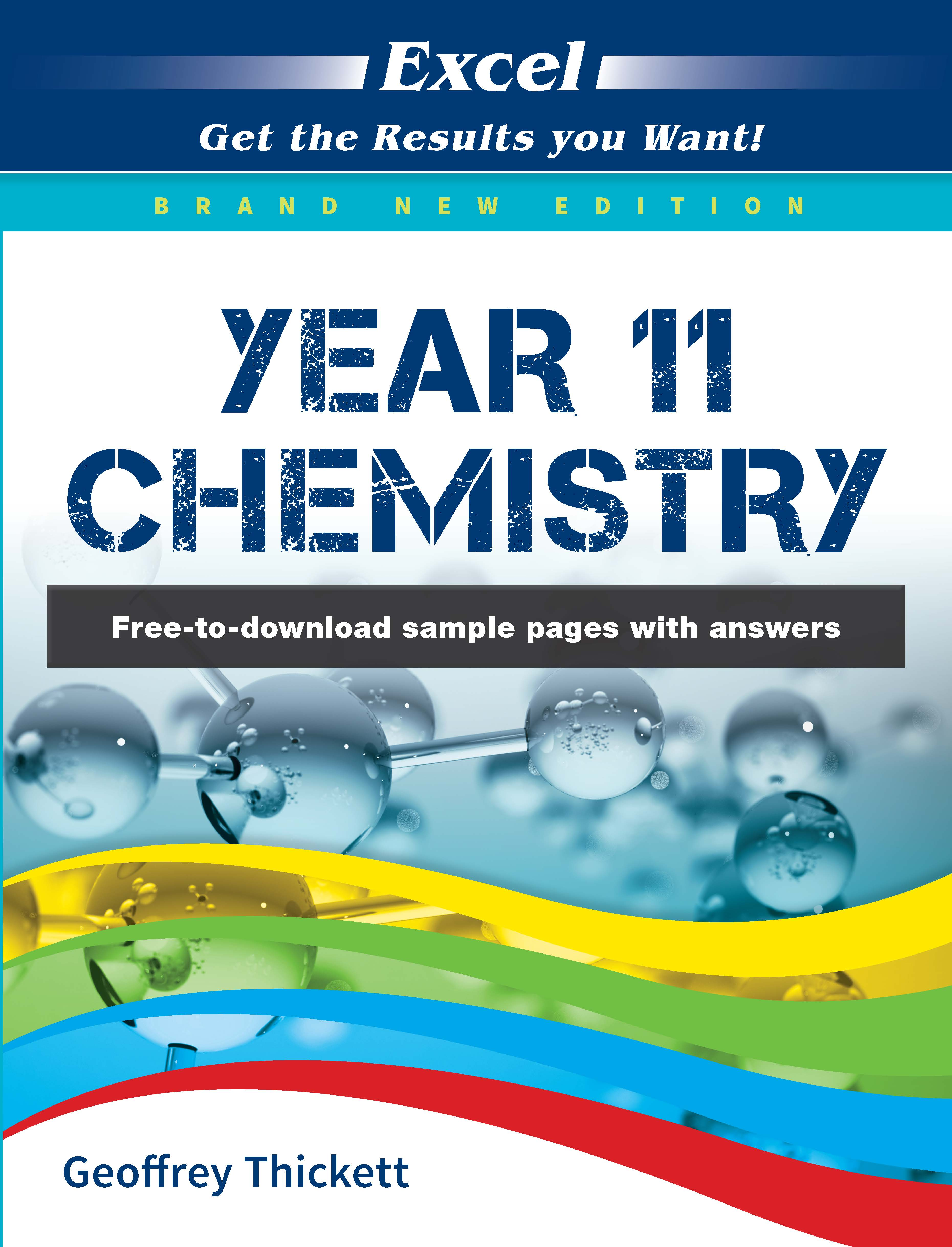 Excel Year 11 Chemistry Study Guide