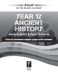 EXCEL YEAR 12 ANCIENT HISTORY STUDY GUIDE