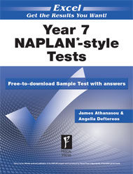 Excel NAPLAN*-style Tests Year 7