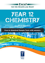 Excel Year 12 Chemistry Study Guide