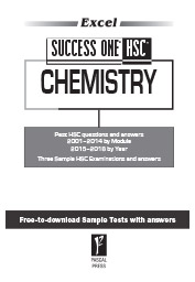 EXCEL SUCCESS ONE HSC - CHEMISTRY 2019 EDITION