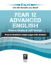 EXCEL YEAR 12 ADVANCED ENGLISH STUDY GUIDE