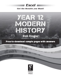 EXCEL YEAR 12 MODERN HISTORY STUDY GUIDE