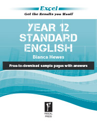 EXCEL YEAR 12 STANDARD ENGLISH STUDY GUIDE