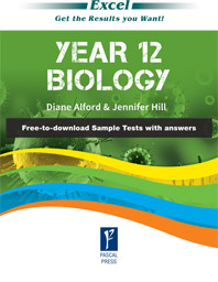 EXCEL YEAR 12- BIOLOGY STUDY GUIDE