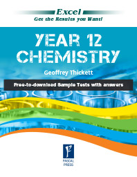 EXCEL YEAR 12- CHEMISTRY STUDY GUIDE