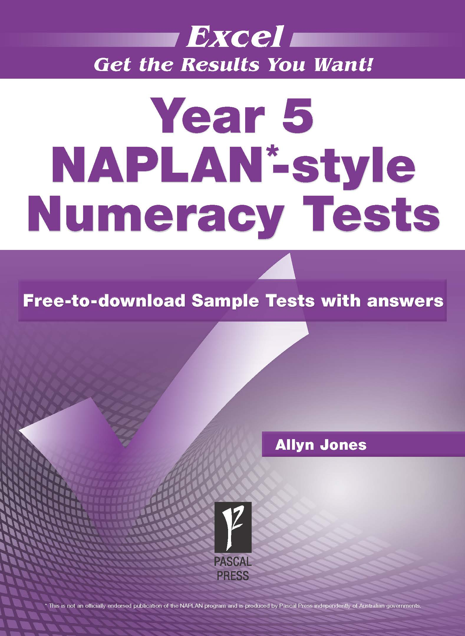 Excel NAPLAN*-style Numeracy Tests Year 5