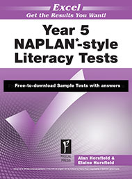 Excel NAPLAN*-style Literacy Tests Year 5 Sample 2